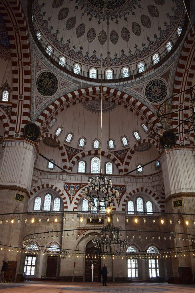 Binnenkant Sehzade moskee