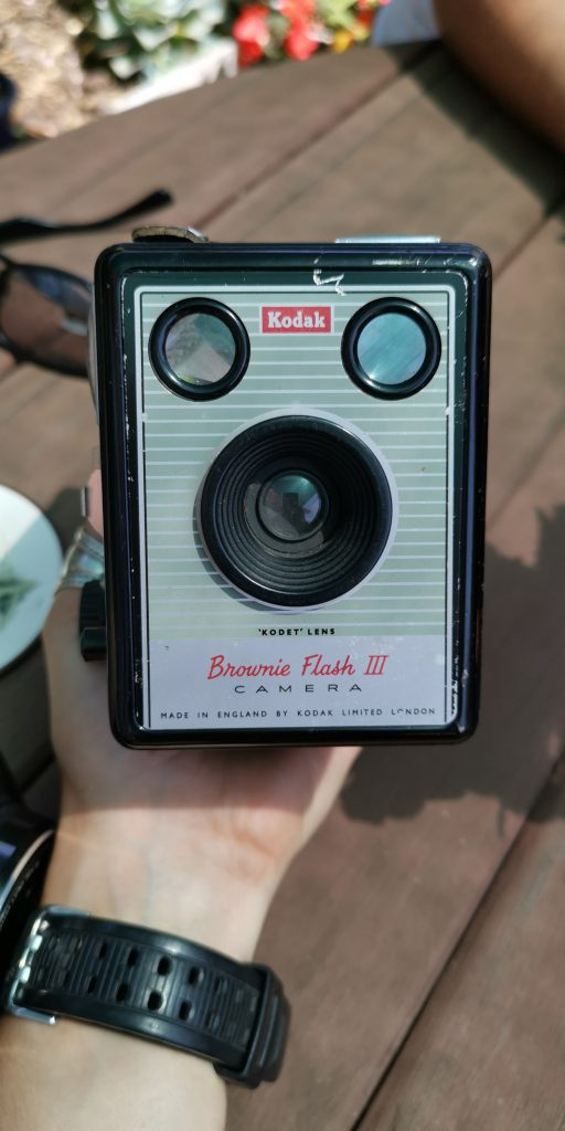 Vintage Camera Kodak Brownie Flash III
