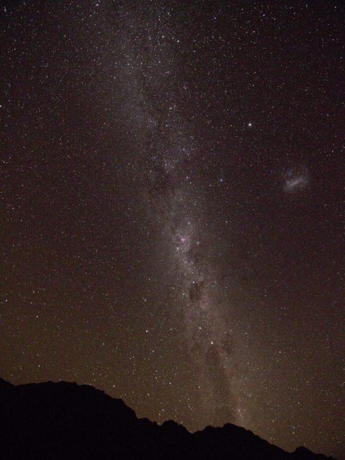Starry sky Tasman Valley