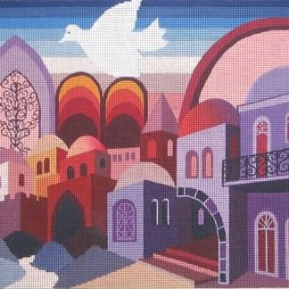 Jerusalem in Purple Tefillin
