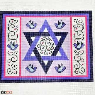 Purple Star Tallit