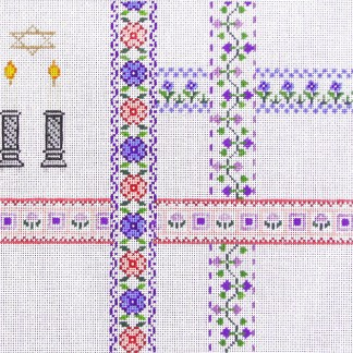 Lace and Ribbon Tallit