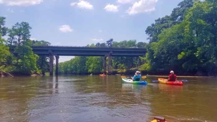 Kayaking the Flint River Georgia