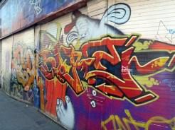 Bold Irish graffiti, Belfast