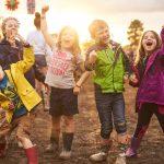 children enjoying a family friendly festival