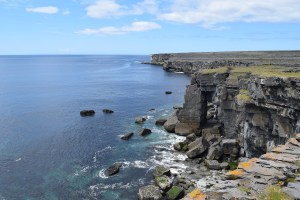 coastal cliffs in Inismore, Aran Islands