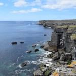 coastal cliffs in Inismore, Aran Islands