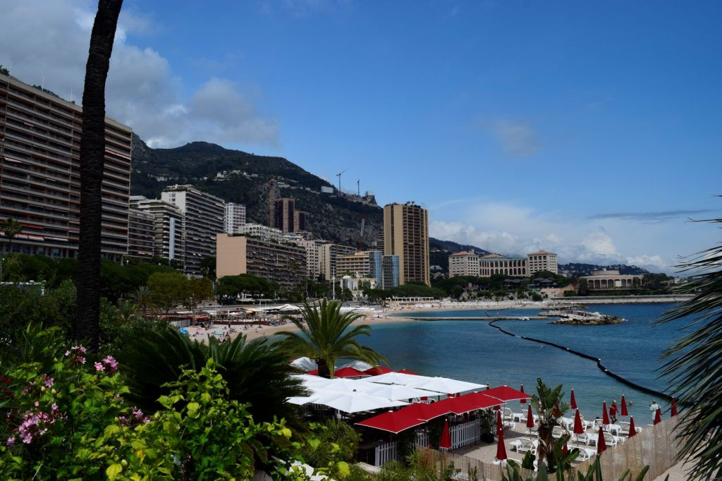 The Monaco seafront (Lavrotto Beach)