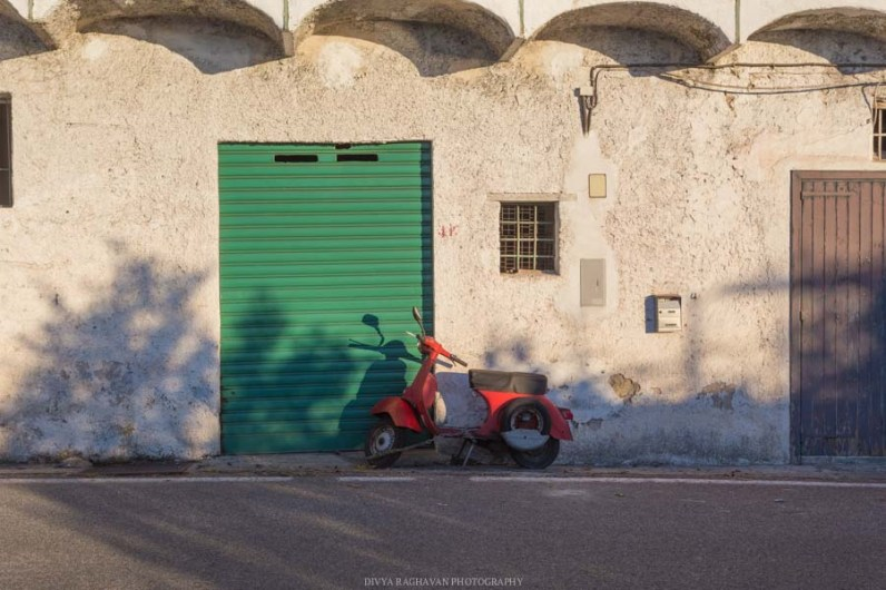 Vespa spotting at Amalfi, Italy