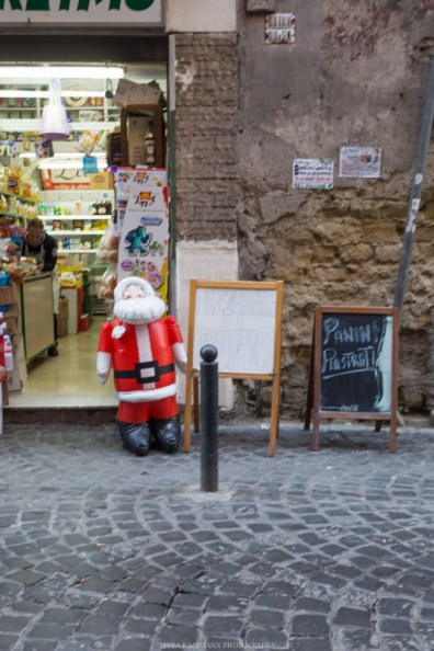 Christmas decorations, Naples, Italy-3