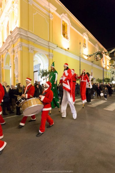 Christmas parade, Sorrento, Italy