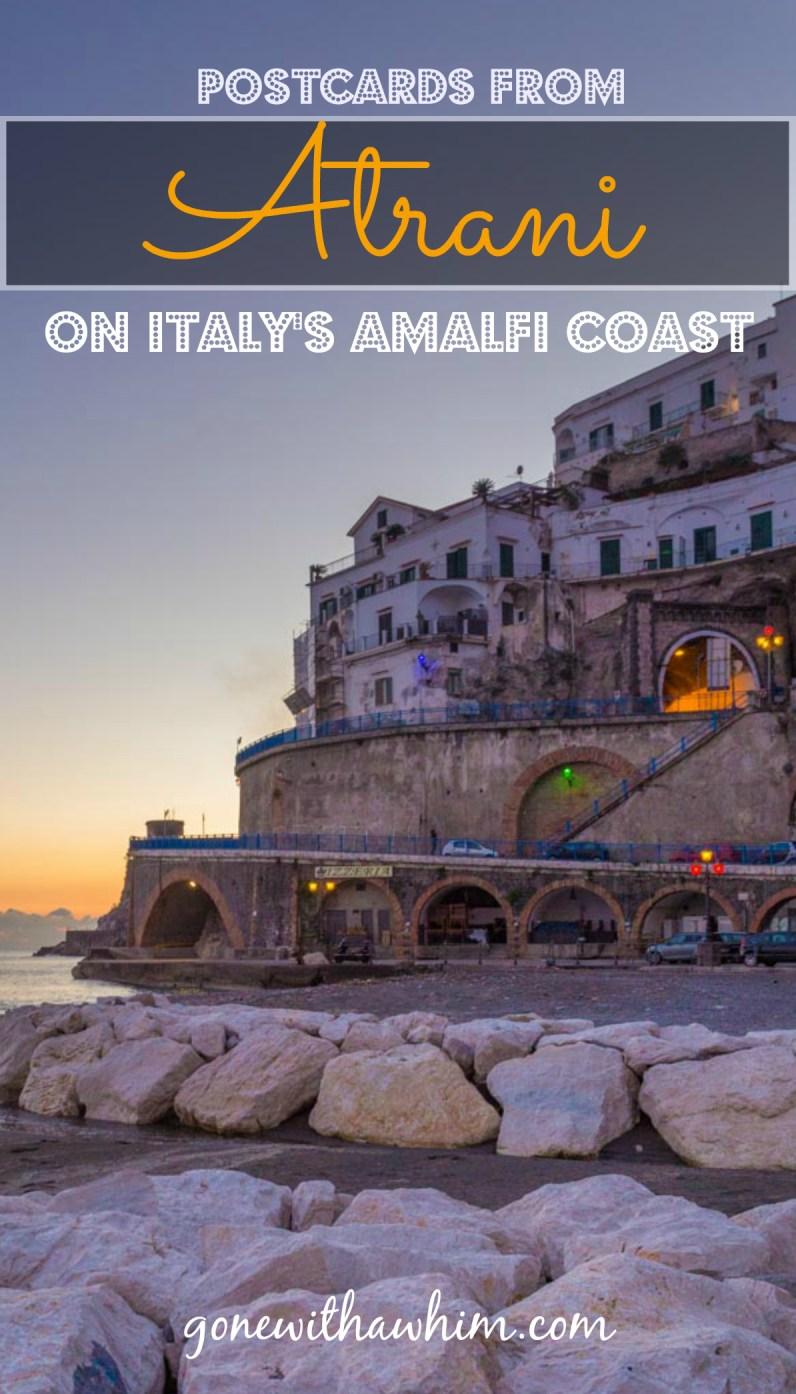 Photos from the town of Atrani on the Amalfi Coast in Italy // gonewithawhim.com