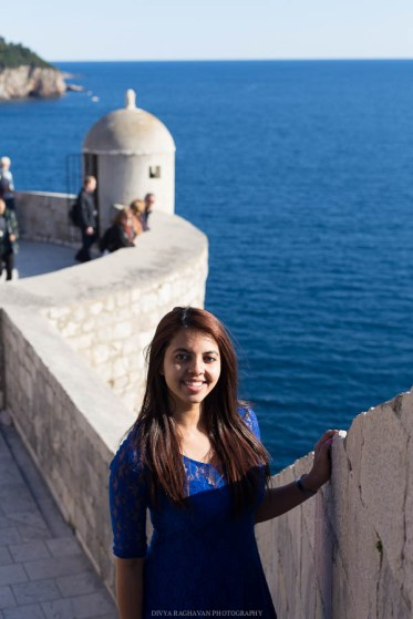 View from the Dubrovnik city walls // Photos and stories from a week in Croatia // Memories from the Balkans // Dubrovnik, Split, and Zagreb