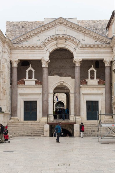 Diocletian palace, Split // Photos and stories from a week in Croatia // Memories from the Balkans // Dubrovnik, Split, and Zagreb