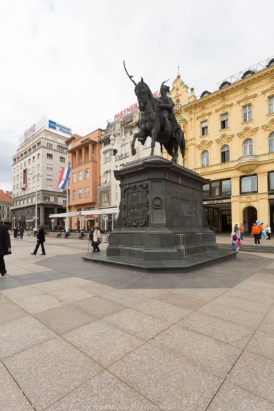 Statue of Tomislav, Zagreb // Photos and stories from a week in Croatia // Memories from the Balkans // Dubrovnik, Split, and Zagreb