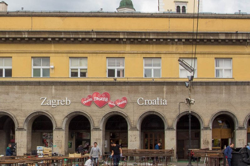 The open-air markets at Zagreb // Photos and stories from a week in Croatia // Memories from the Balkans // Dubrovnik, Split, and Zagreb
