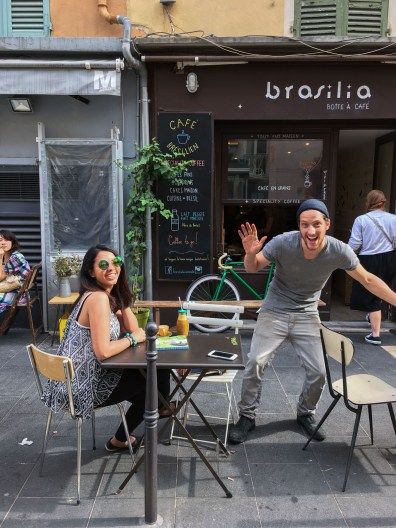 Cafe Brasilia and its super-fun owner