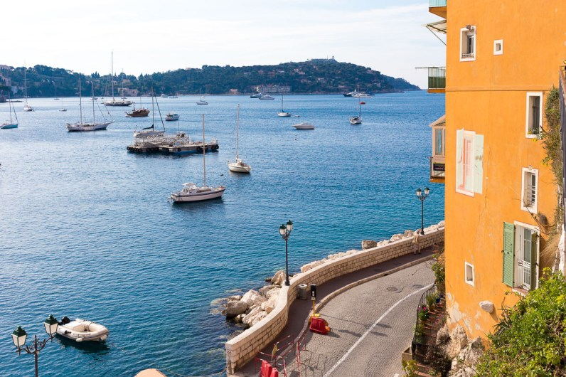 The picturesque town of Villefranche