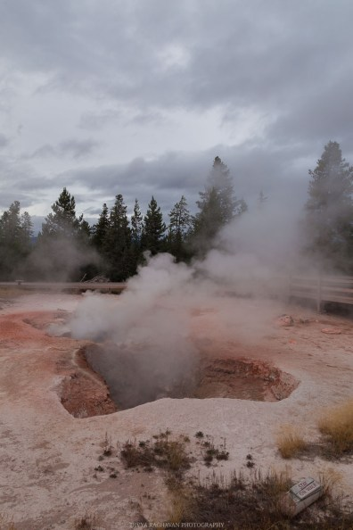 Artists' Paint pots, Yellowstone National park, Wyoming