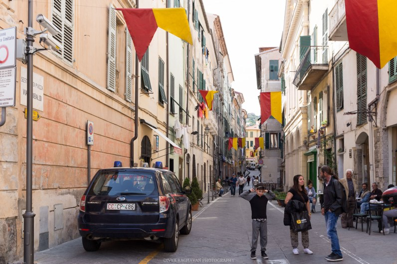 The streets on the old town // A day trip to the medieval town of Ventimiglia, Italy from Nice, France // gonewithawhim.com