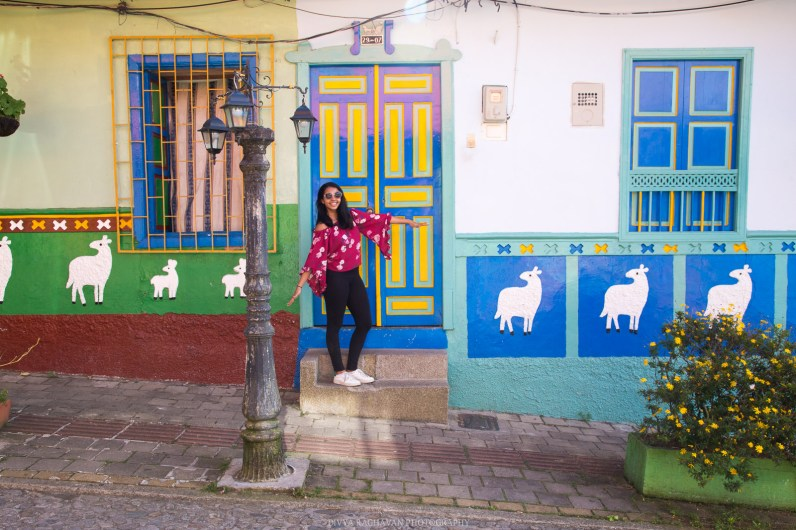 Colorful houses at Guatape, Antioquia. Colombia -- Photos to inspire you to visit Colombia -- gonewithawhim.com