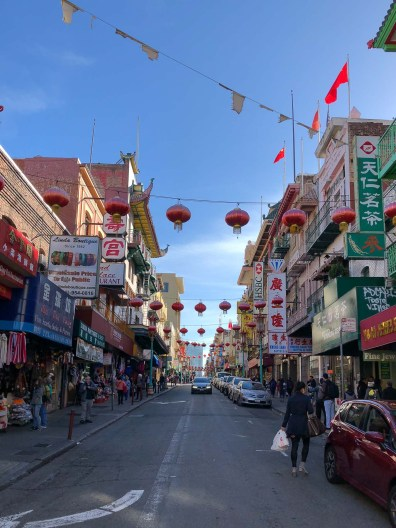 Streets and lanterns of Chinatown, Gems of San Francisco, USA -- gonewithawhim.com.jpg // Postcards from San Francisco// San Francisco Chinatown