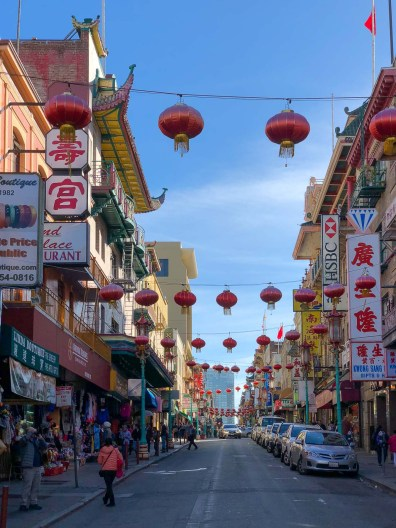 Streets and lanterns of Chinatown, Gems of San Francisco, USA -- gonewithawhim.com.jpg // San Francisco Chinatown