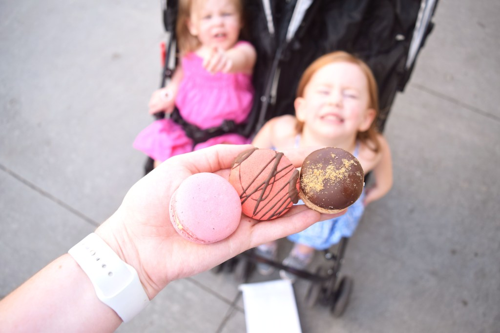 macarons from marche de macarons, things to do in savannah with kids