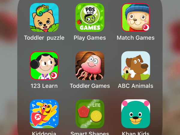 10+ Educational iPad Apps For Toddlers