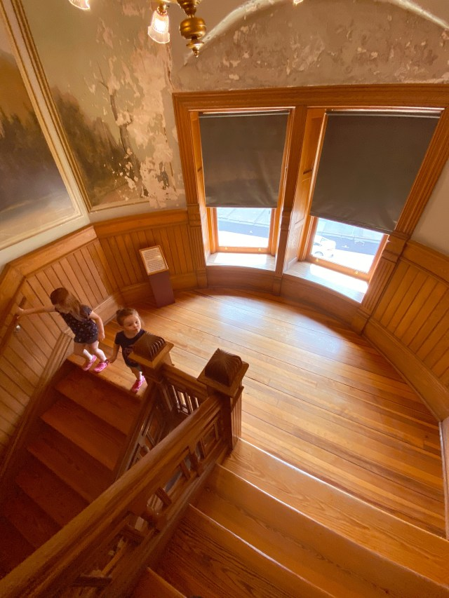 old courthouse staircase
