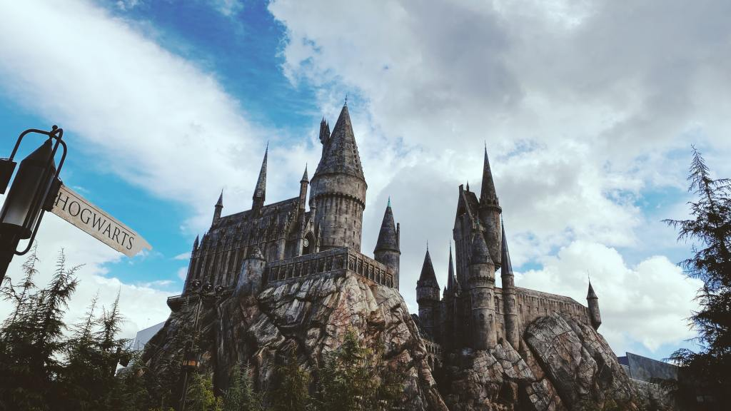 harry potter castle at universal