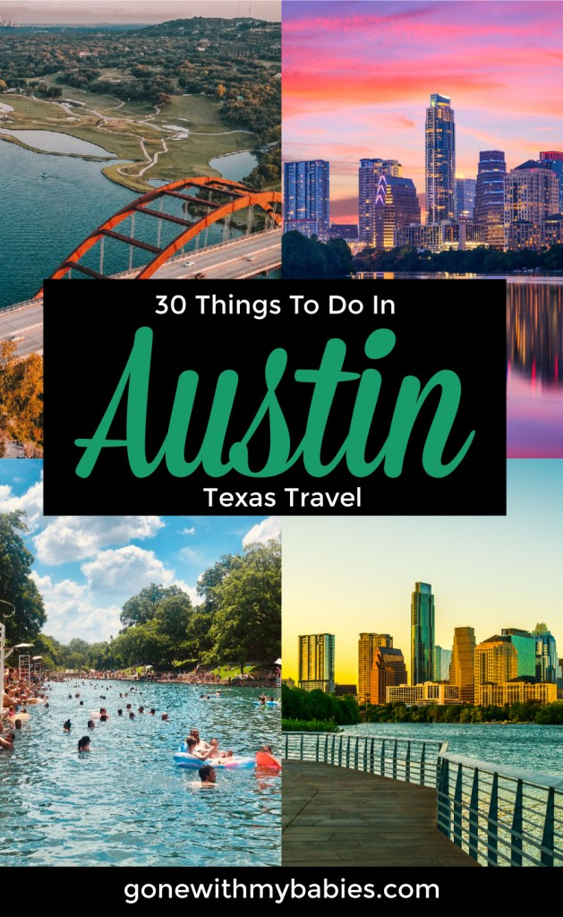 things to do in austin texas pinterest pin