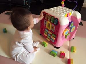 baby Milestones Sit Up On Her Own