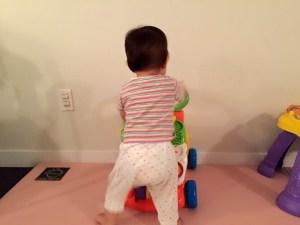 Baby Milestones Walking