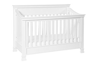 Non-Toxic Crib Million Dollar Baby Classic Foothill 4-in-1 Convertible With Toddler Rail