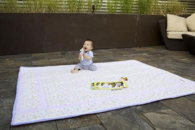 Phillobebe Organic Cotton Non-Toxic Play Mat