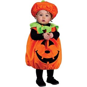 Baby Halloween Costume Pumpkin