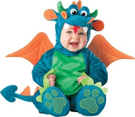 Halloween costumes baby dinky dragon