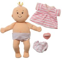 Manhattan Toy Baby Stella First Baby Doll with Diaper