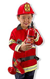 Firefighter Halloween Costume For A Toddler