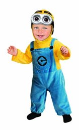 Minion Halloween Costume for a Toddler