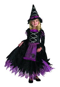 Witch Halloween Costume For A Toddler