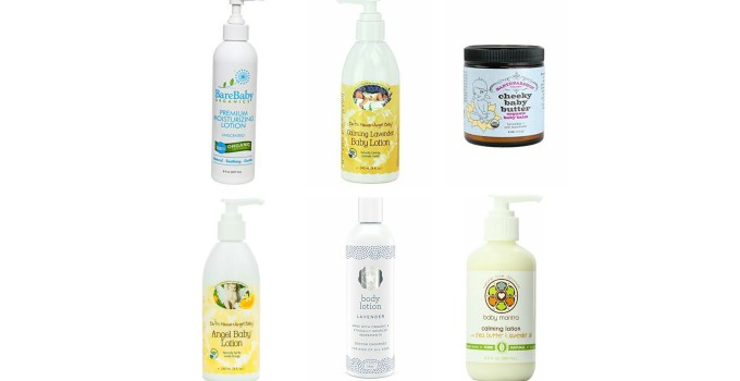 Best Organic Baby Lotions
