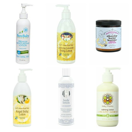 Best Organic Baby Lotion