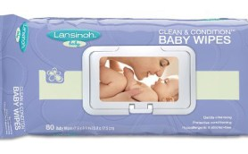 Lansinoh Clean & Condition Baby Wipes