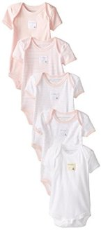 Non-Toxic Holiday Gift - Burt's Bees Baby Organic Cotton Short Sleeve Bodysuits