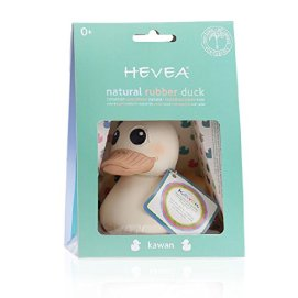 Non-Toxic Holiday Gift - Hevea Natural Rubber Duck Bath Toy