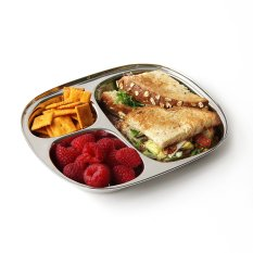 Non-Toxic Holiday Gift Ideas - Ecolunchbox Stainless Steel Kid's Tray