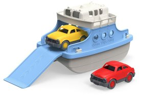 Non-Toxic Holiday Gift Ideas - Green Toys Ferry Boat With Mini Cars