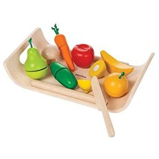 Non-Toxic Holiday Gift Ideas - Plan Toys Assorted Fruits And Vegetables